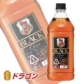 ブラックニッカ クリア 37度 1.8L 1800ml アサヒ ニッカウイスキー ペットボトル