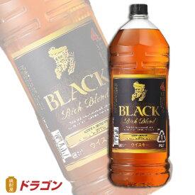 ブラックニッカ リッチブレンド 4L ★ 40度 4000ml アサヒ ニッカウイスキー 4本まで1個口 大容量 業務用