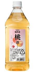 ニッカ 果実の酒 桃酒15度 1800ml ペットボトル リキュールアサヒ カクテルコンク 業務用