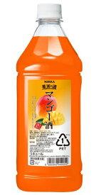 ニッカ 果実の酒 マンゴー酒15度 1800ml ペットボトル リキュールアサヒ カクテルコンク 業務用