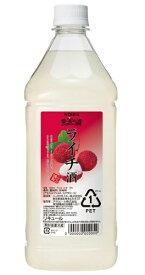 ニッカ 果実の酒 ライチ酒15度 1800ml ペットボトル リキュールアサヒ カクテルコンク 業務用