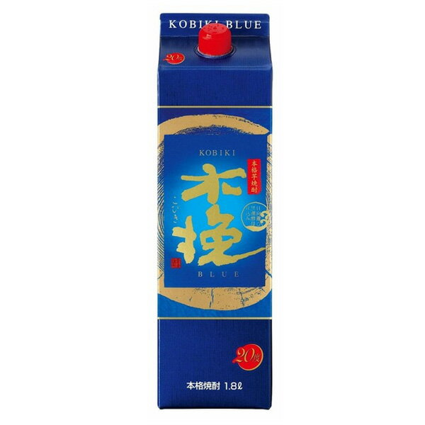 雲海 木挽BLUE ブルー うんかい 芋焼酎 25度 1800ml パック 雲海酒造 1.8L