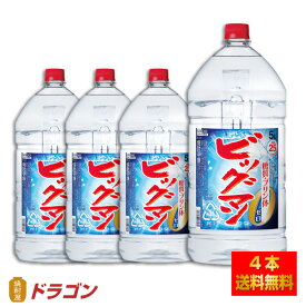 【送料無料】ビッグマン 25度 5L×4本 1ケース 5000ml 合同酒精 焼酎甲類 大容量 業務用