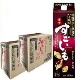 【送料無料】いも焼酎 すごいも 1.8L×12本 25% 合同酒精 甲類乙類混和焼酎 1800mlパック 2ケース