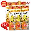 【送料無料】博多の華むぎ12度1.8Lパック×6本1ケース麦焼酎福徳長酒類12%1800ml
