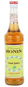 MONIN モナン CORDIALライム果汁 700ml