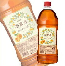 杏露酒  2700ml ペット2.7L 果実リキュール しんるちゅうキリン