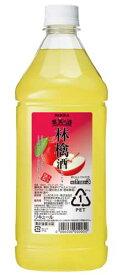 ニッカ 果実の酒 林檎酒 りんご15度 1800ml ペットボトル リキュールアサヒ カクテルコンク 業務用