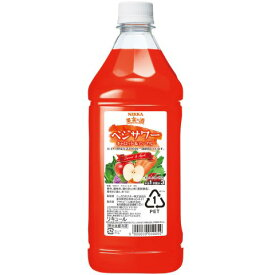 果実の酒 ベジサワー キャロット&アップル 18度 1.8L ペット リキュール アサヒ カクテルコンク 1800ml 業務用