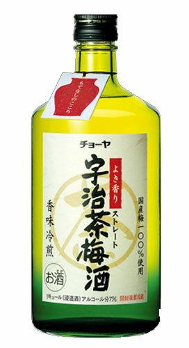 チョーヤ 宇治茶梅酒 7度 720mlうじちゃうめしゅ リキュール