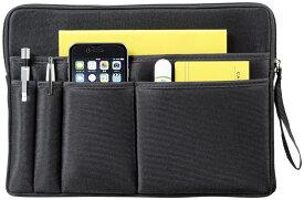 バッグインバッグ バッグ内部を整理整頓 3way仕様 送料無料スマートクラッチバッグタブレットPC デジモノアクセサリー モバイルアクセサリー 収納 クラッチバッグ