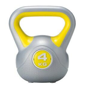 ダンベル4kg単品通常のダンベルと違い腕の筋力だけではなく全身のトレーニング