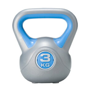 ダンベル3kg単品通常のダンベルと違い腕の筋力だけではなく全身のトレーニング