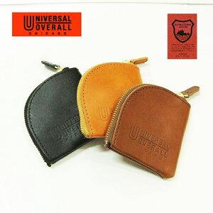 コインケース メンズ【UNIVERSAL OVERALL】栃木レザー 日本製 コインケース