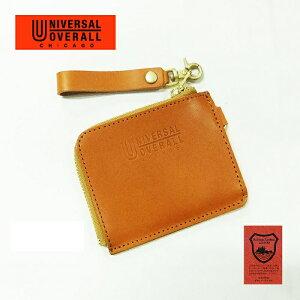 コインケース メンズ 送料無料【UNIVERSAL OVERALL】栃木レザー 日本製 LFコインケース