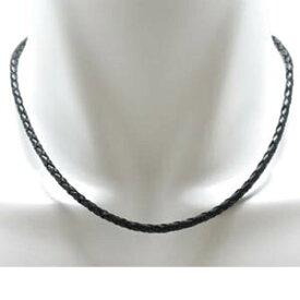 本皮革ネックレス 長さ約45cm 幅約3mm 金具部分:フック12mm×6mmシルバーペンダントはもちろん、ピューターペンダントにもよく合うクールな本皮革製ネックレスです。