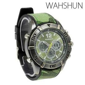 メンズ腕時計 送料無料アナデジウォッチ メンズ 腕時計【保証書付】