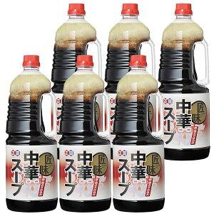 【送料無料】【正田醤油】匠味中華スープ 1.8Lペットボトル×6本