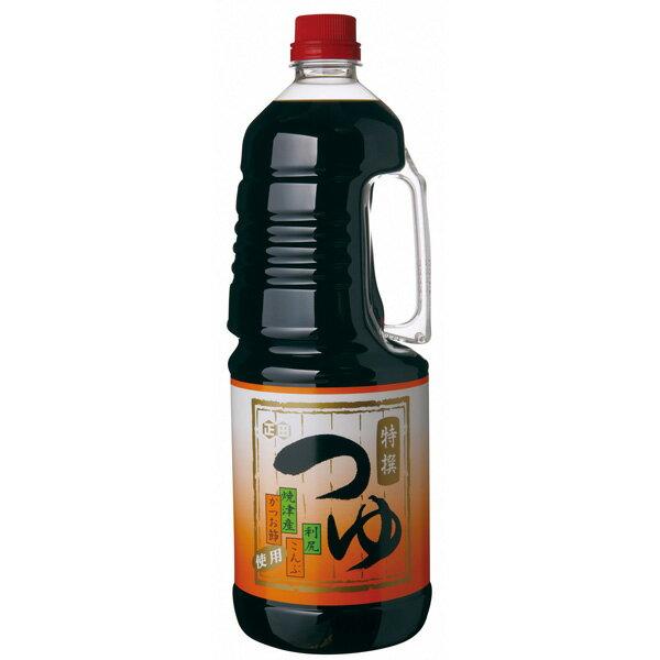 【送料無料】【正田醤油】正田の特撰つゆ1.8Lペットボトル×6本