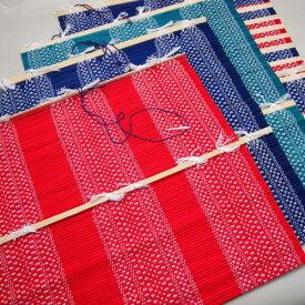 書道用品 墨運堂 筆巻 中国産 柄物尺 R-20 【メール便対応】 (25709) 筆収納 筆携帯