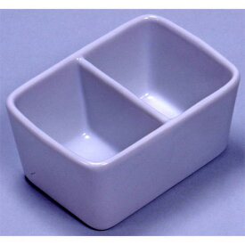 墨運堂 陶器 角筆洗 2穴 12.0cm (26504)