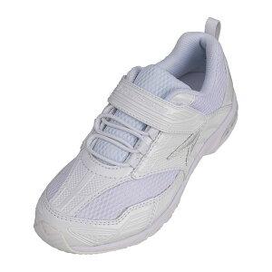 アキレス Achilles 瞬足 SJJ5460 白 ホワイト 男女兼用 キッズ ジュニア 女の子 男の子 スニーカー 通学靴 白靴 子供靴 防水 マジックテープ 2E 上靴 うわばき うわぐつ 子供 白