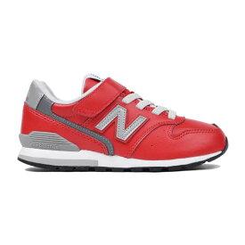 ニューバランス newbalance スニーカー キッズ YV996LRD M レッド RED 靴 シューズ ジュニア 20FW マジック ベルクロ 通学 男の子 ボーイズ 女の子 ガールズ
