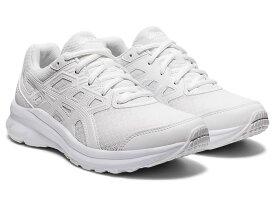 アシックス asics スニーカー レディース ジョルト3 JOLT3 1012A909.101 White/White ホワイト/ホワイト 22〜25.5cm ランニング 幅広 ワイド  スクール 白 通学靴 白靴 靴 シューズ ランニングシューズ 運動靴 ワイド