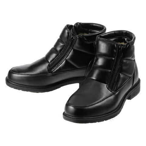 [ホットウォーカー] Hot Walker 3660 メンズ | メンズスノーシューズ | メンズブーツ | 雪靴 シンプル | 保温機能 暖かい | ブラック