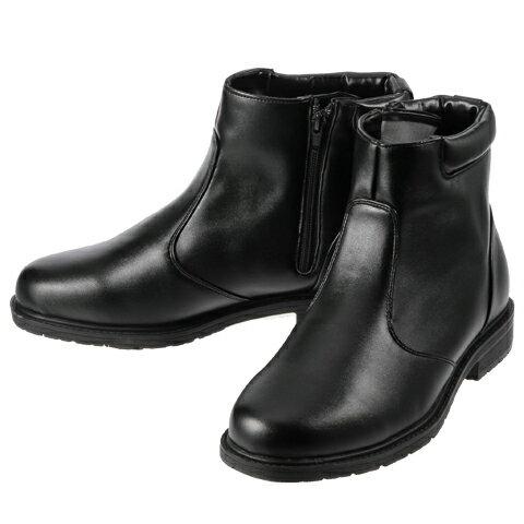 [ホットウォーカー] Hot Walker 3661 メンズ | メンズスノーシューズ | メンズブーツ | 雪靴 シンプル | 保温機能 暖かい | ブラック