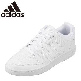 アディダス adidas スニーカー B74437 レディース 靴 シューズ レディース スニーカー NEOHOOPSTER VS W カジュアル おしゃれ ローカット 大きいサイズ対応 25.0cm ホワイト