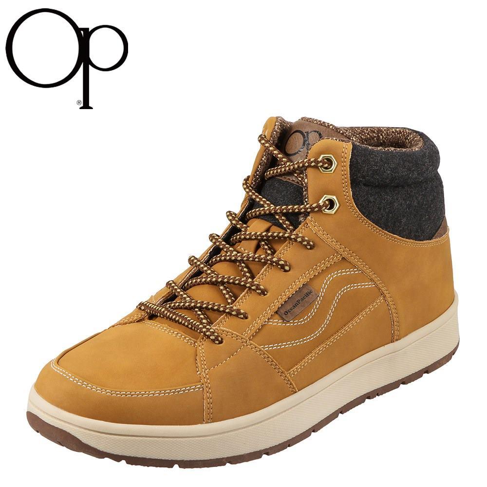 【期間限定価格】オーシャンパシフィック OCEAN PACIFIC レインシューズ OP-3054 メンズ 靴 靴 シューズ 2E相当 レイン・スノー ミッドカット ヌバックコート スノーシューズ・防水・雪対策 大きいサイズ対応 28.0cm ベージュ