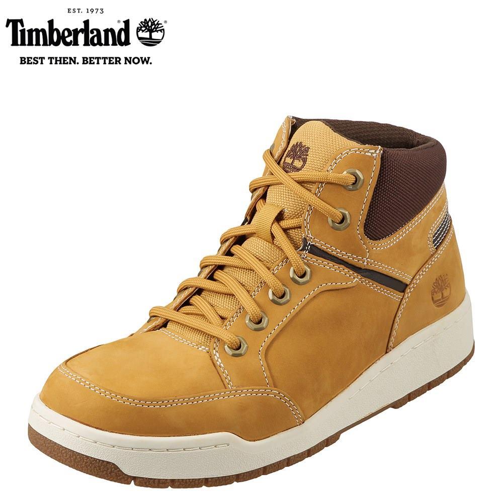 ティンバーランド Timberland ブーツ TIMB A1I2Q メンズ靴 靴 シューズ 3E相当 ショートブーツ 本革 RAYSTOWN レイズタウン ハイカットスニーカー 幅広 大きいサイズ対応 28.0cm 28.5cm イエロー