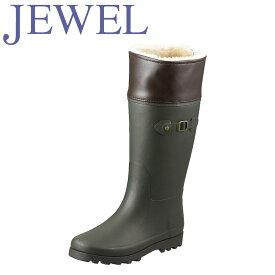 ジュエル JEWEL レインシューズ BJW28 レディース靴 靴 シューズ スノーブーツ 軽量 レインブーツ 長靴 ラバーブーツ ロングブーツ 大きいサイズ対応 25.0cm 25.5cm オリ−ブ