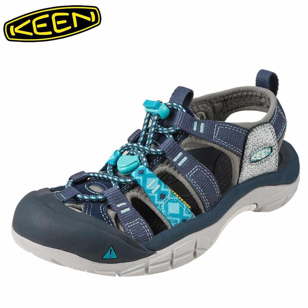 キーン KEEN サンダル 1016483 レディース靴 靴 シューズ 2E相当 スポーツサンダル アウトドア キャンプ レジャー ニューポート H2 大きいサイズ対応 25.0cm ブルー
