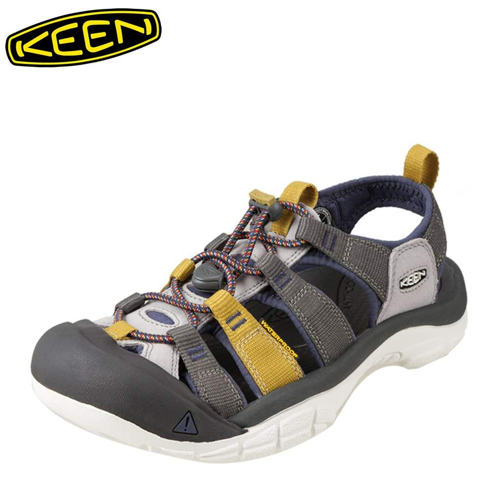 [全商品ポイント5倍]キーン KEEN サンダル 1016254 メンズ靴 靴 シューズ 2E相当 スポーツサンダル アウトドア キャンプ レジャー ニューポート H2 大きいサイズ対応 28.0cm グレー