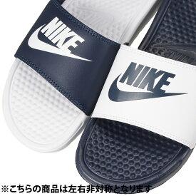 ナイキ NIKE サンダル 818736-410 メンズ靴 靴 シューズ 2E相当 スポーツサンダル スポサン ベナッシ JDI ミスマッチ おしゃれ 人気 大きいサイズ対応 28.0cm 29.0cm ネイビー×ホワイト