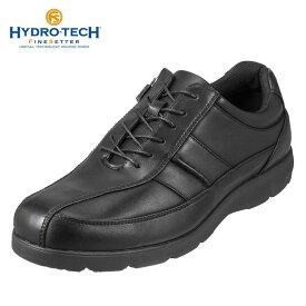 ハイドロテック ファインセッター HYDRO TECH ウォーキングシューズ HD1343 メンズ靴 靴 シューズ 4E相当 ウォーキングシューズ 防水 ローカット スニーカー 防滑 軽量 幅広 大きいサイズ対応 28.0cm ブラック