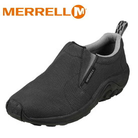 メレル MERRELL ウォーキングシューズ 598681 メンズ靴 靴 シューズ スリッポン モック シューズ ローカットスニーカー 軽量 サイドゴア 大きいサイズ対応 28.0cm 29.0cm 30.0cm ブラック