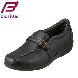 バイオフィッター レディース Bio Fitter コンフォートシューズ BFL-3014 レディース靴 靴 シューズ ローカットスニーカー 防水 ウォーキング おでかけ 散歩 旅行 コンフォート 防滑 抗菌 防臭 大きいサイズ対応 25.0cm ブラック