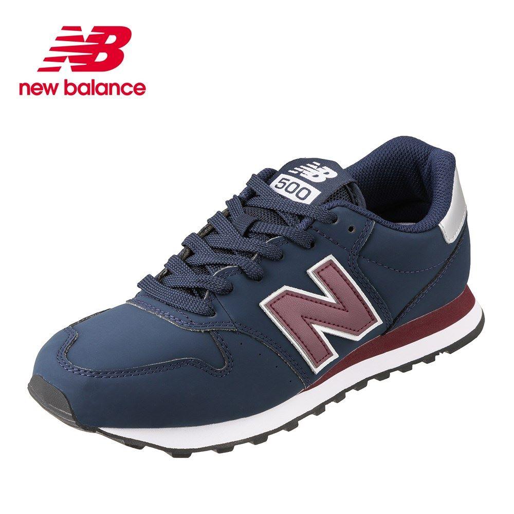 ニューバランス new balance スニーカー GM500NABD メンズ靴 靴 シューズ D ローカットスニーカー カジュアルスニーカー ブランド 人気 スポーツ ランニング ジョギング ジム 大きいサイズ対応 28.0cm 29.0cm ネイビー