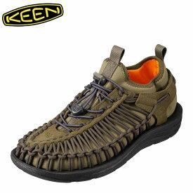 [マラソン中ポイント5倍]キーン KEEN メンズ スニーカー 1018027 UNEEK HT ユニーク ローカットスニーカー メンズ靴 靴 シューズ スポーツサンダル スポサン 軽量 アウトドア キャンプ レジャー フェス ウォーターシューズ ブランド 人気 大きいサイズ対応 オリーブ
