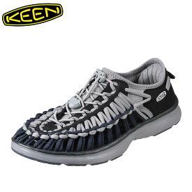[マラソン中ポイント5倍]キーン KEEN サンダル 1019943 メンズ靴 靴 シューズ 2E相当 メンズ サンダル 軽量設計 UNEEK O2 大きいサイズ対応 グレー