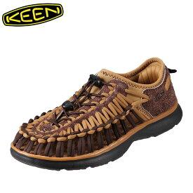 [マラソン中ポイント5倍]キーン KEEN サンダル 1019942 メンズ靴 靴 シューズ 2E相当 メンズ サンダル 軽量設計 UNEEK O2 大きいサイズ対応 ブラウン