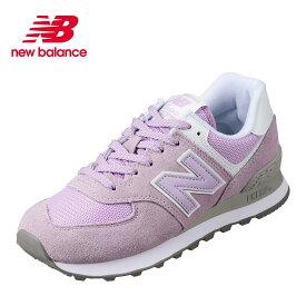 ニューバランス new balance WL574ESDB レディース靴 B レディース スニーカー 本革 スポーツ 大きいサイズ対応 25.0cm VIOLET GLO