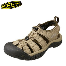 キーン KEEN 1018809 メンズ靴 2E相当 メンズサンダル スポサン 軽量設計 NEWPORT H2 ニューポート 小さいサイズ対応 大きいサイズ対応 ベージュ