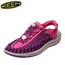 キーン KEEN 1018687 レディース靴 2E相当 レディースサンダル スポサン 軽量設計 UNEEK ユニーク 小さいサイズ対応 大きいサイズ対応 ピンク