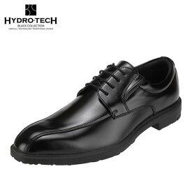 ハイドロテック ブラックコレクション HYDRO TECH HD1421 メンズ靴 3E相当 ビジネスシューズ 防水 防滑 吸湿 放湿 靴内快適 大きいサイズ対応 ブラック