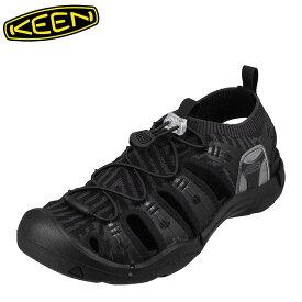 キーン KEEN 1021387 メンズ靴 靴 シューズ 2E相当 サンダル ニット EVOFIT 小さいサイズ対応 大きいサイズ対応 ブラック