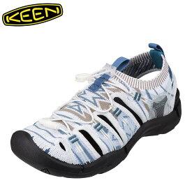 キーン KEEN 1021401 レディース靴 靴 シューズ 2E相当 サンダル ニット EVOFIT 大きいサイズ対応 ホワイト